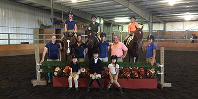 Brody Robertson clinic at Hye Pointe Equestrian Centre