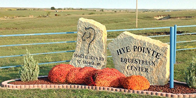 Facility Rental at Hye Pointe Equestrian Centre Manhatten Kansas
