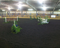Indoor Arena at Hye Pointe Equestrian Centre